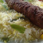 Perski kebab kubide z pikantnym ryżem