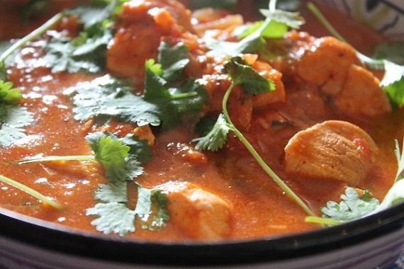 Kuchnia Hinduska Kurczak Tikka Masala Potrawy Z Kurczaka