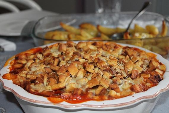 Przepisy Z Kurczaka Zapiekanka Z Kurczaka Z Mozzarella Obiad