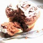 Muffiny czekoladowo sernikowe