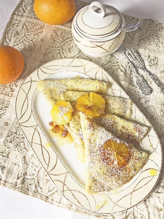 crepes suzette francuski deser z nalesnikow