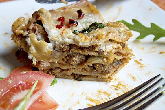 lasagne z miesa mielonego