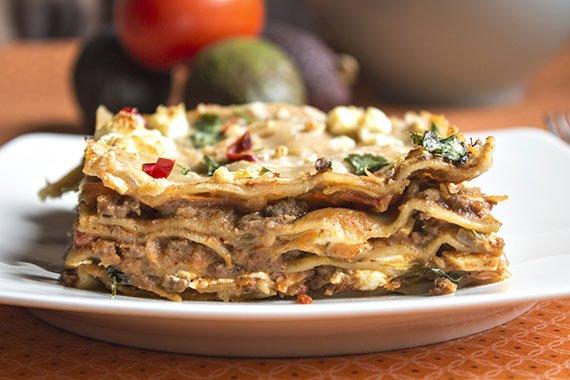orientalne lasagne