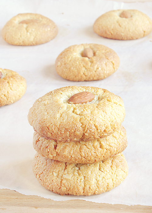 ciasteczka migdałowe pyszne