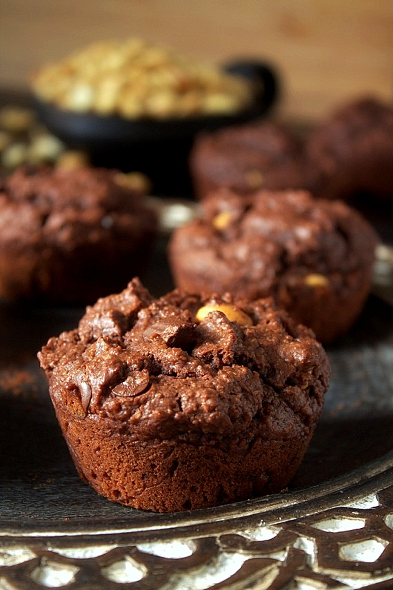 przepis muffiny brownies