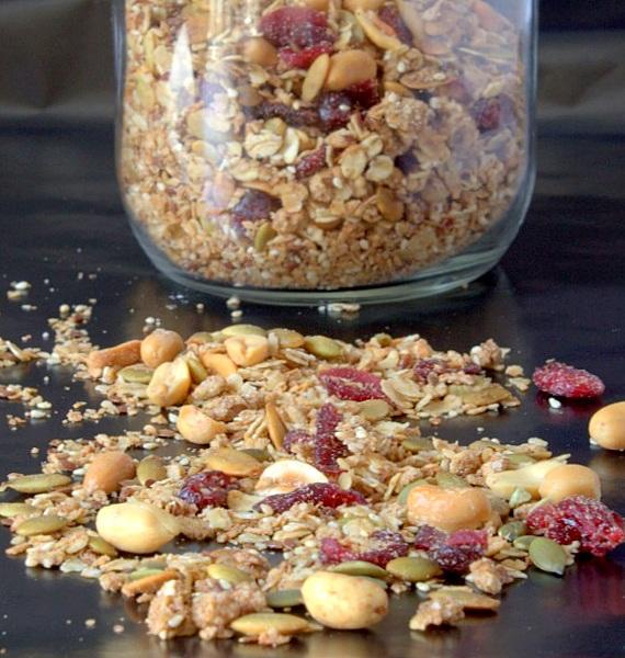 pyszna domowa granola