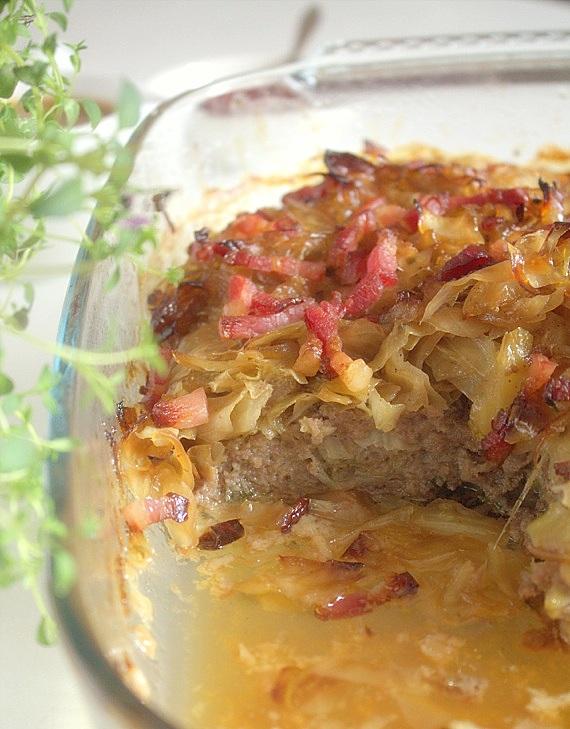 szwedzki pudding z kapusty