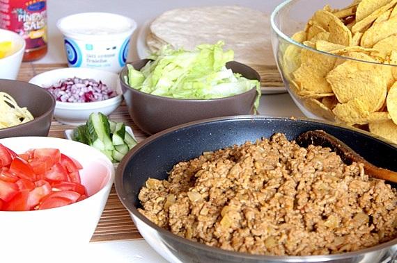 urodzinowy taco bufet