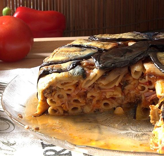 włoska pasta al forno