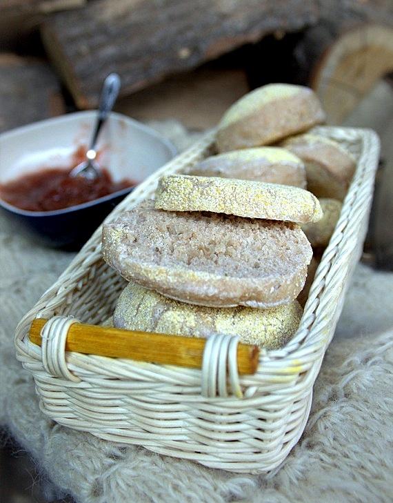angielskie muffins na śniadanie