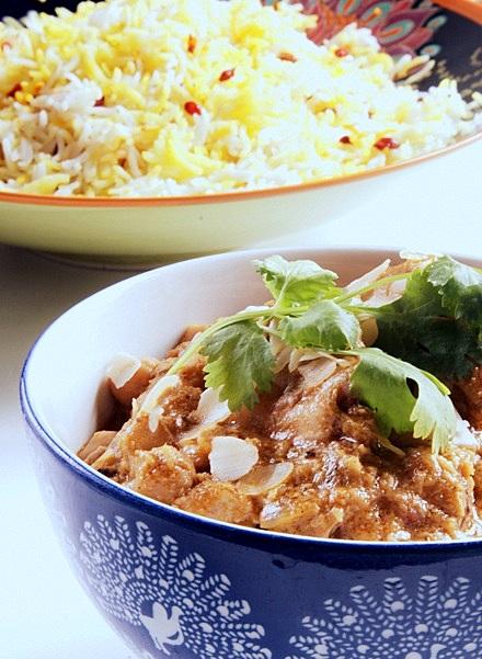 indyjskie curry kurczak korma