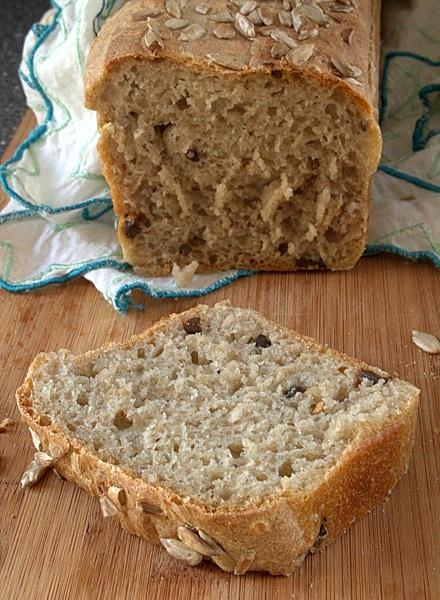 przepis na chleb oliwkowy