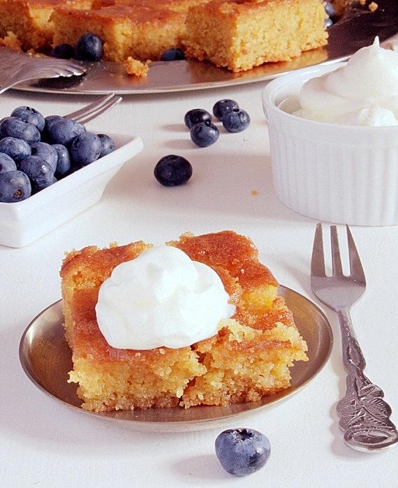 ciasto cytrynowe z polenta