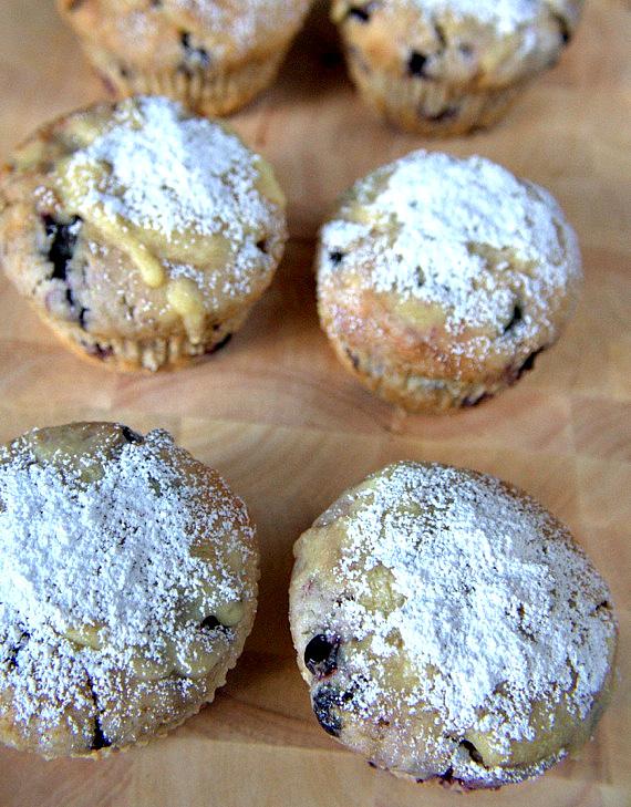 przepis na muffinki jagodowe