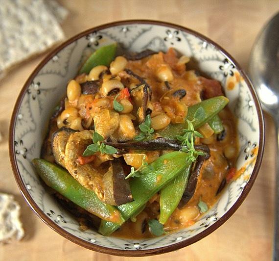 przepis wegetariańskie curry