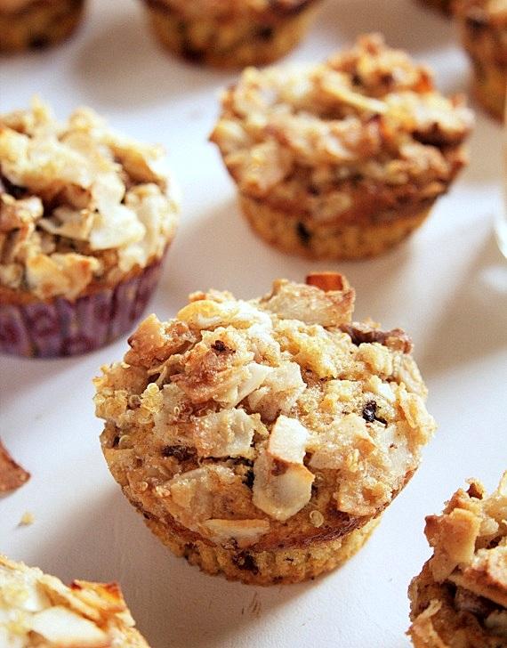 muffinki na śniadanie z batatami