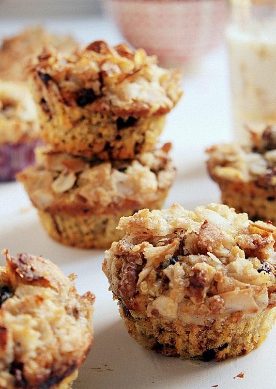 muffinki z kruszonką