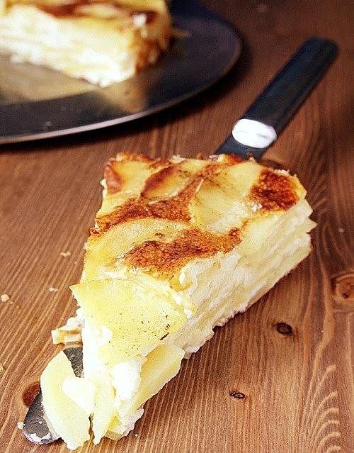 przepis na tort ziemniaczany