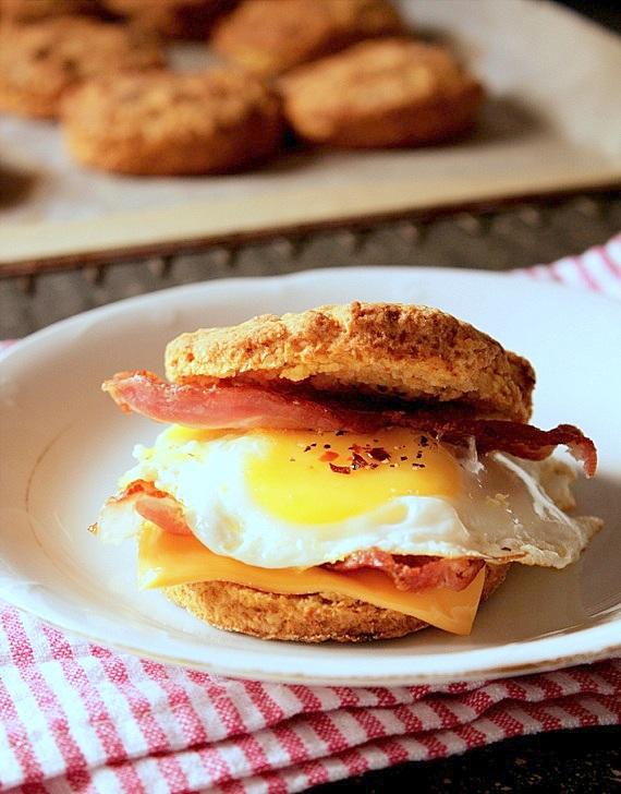 scones z batatami na śniadanie