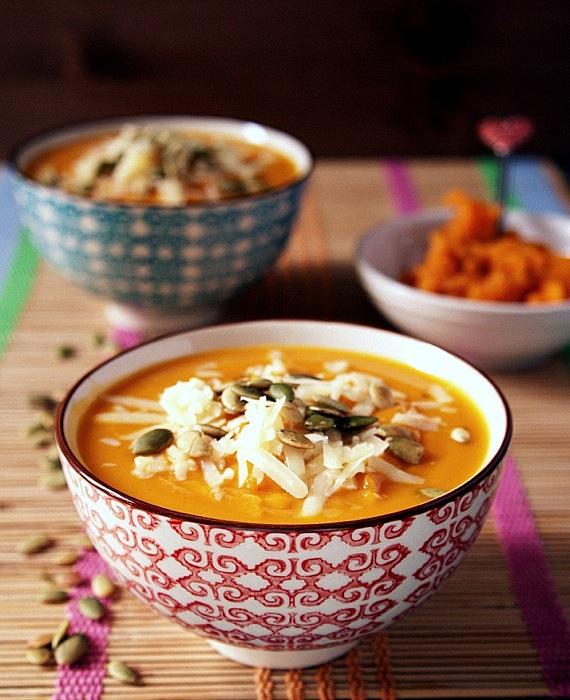 zupa krem z dyniii