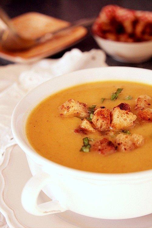 zupa z cukinii i batatów