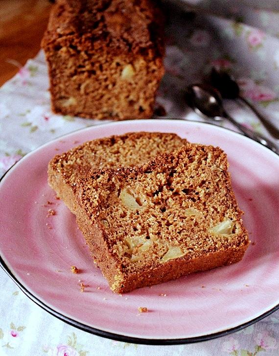 ciasto ucierane z jabłkami i dulce de leche