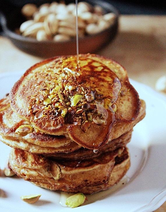 dyniowe placuszki pancakes