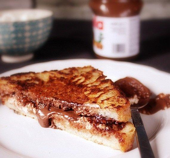 francuskie tosty z nutellą