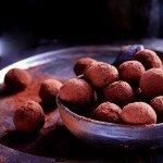 Trufle czekoladowe z żurawiną i chili