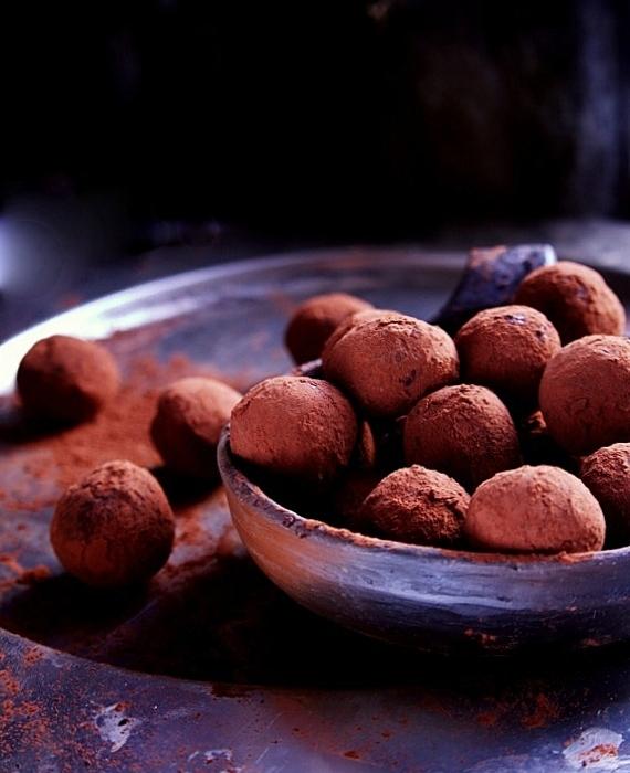 czekoladowe trufle przepis