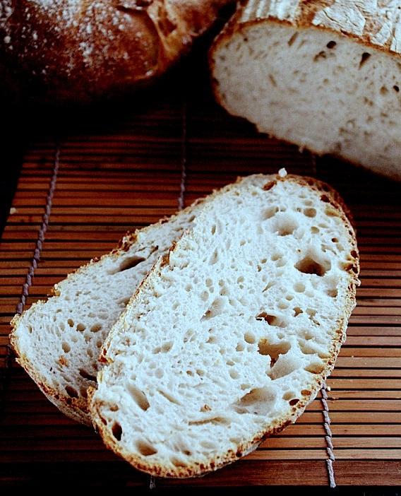 przepis na chleb na pszennym zakwasie