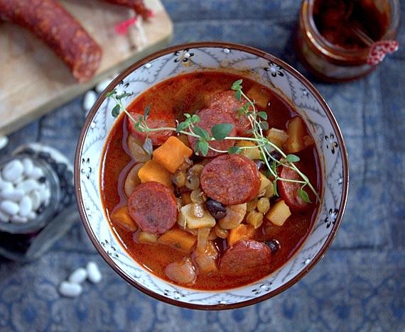 aromatyczna zupa