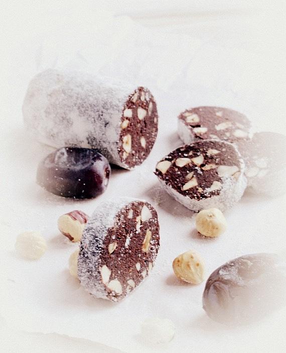 czekoladowe snacks po treningu