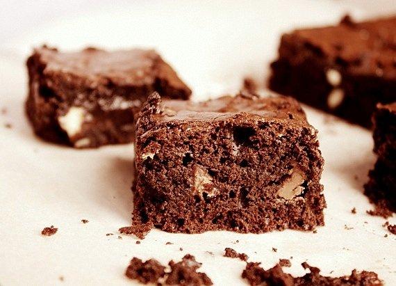 przepis brownie mocno czekoladowe