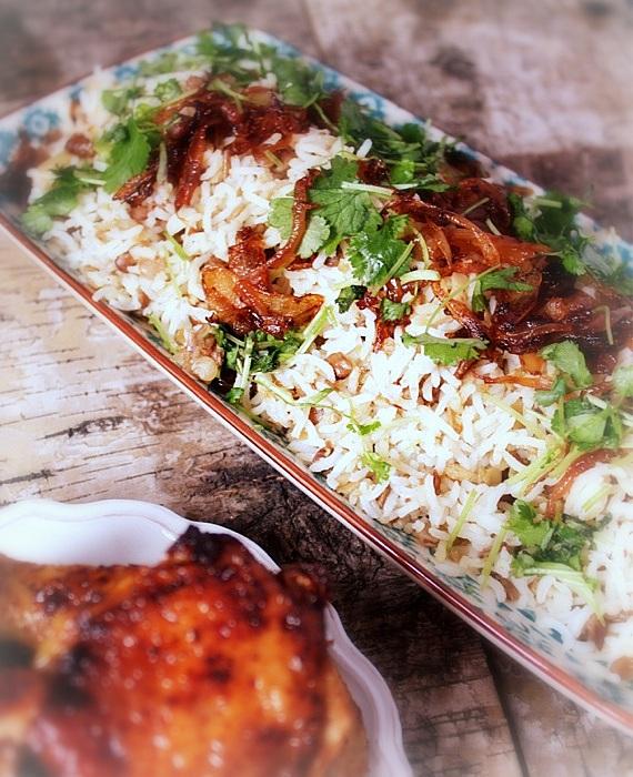przepis na ryż