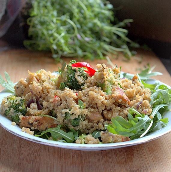przepis z quinoa
