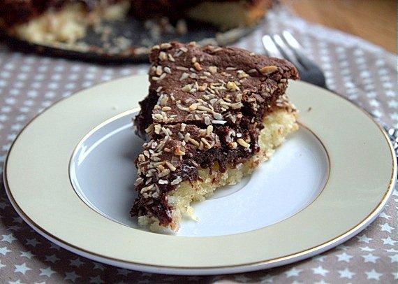 przepis ciasto czekoladowo kokosowe