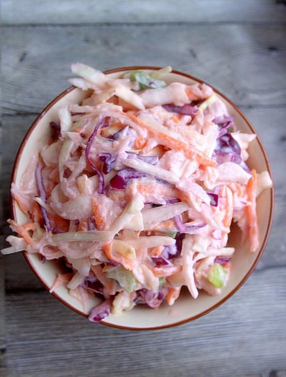przepis na pyszny coleslaw