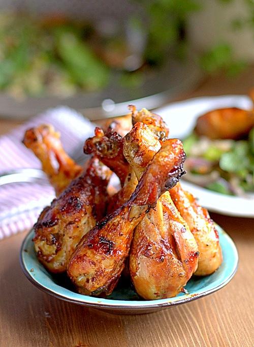 udka z kurczaka cytrynowo miodowe
