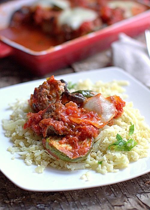 frikadelki w sosie pomidorowym zapiekane