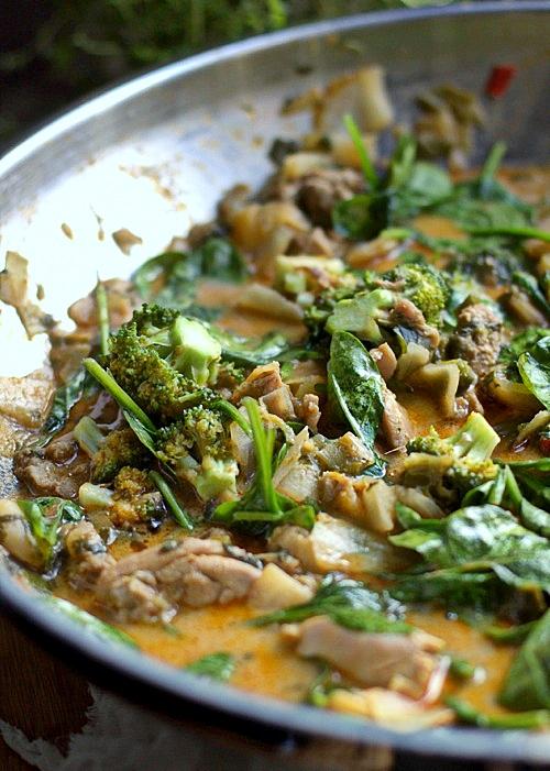 ostre curry z kurczakiem
