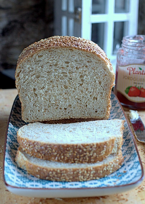 przepis na chleb tostowy
