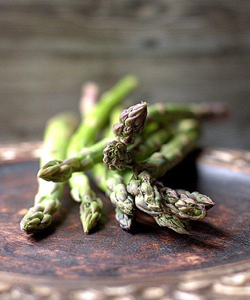 przepis zielone szparagi