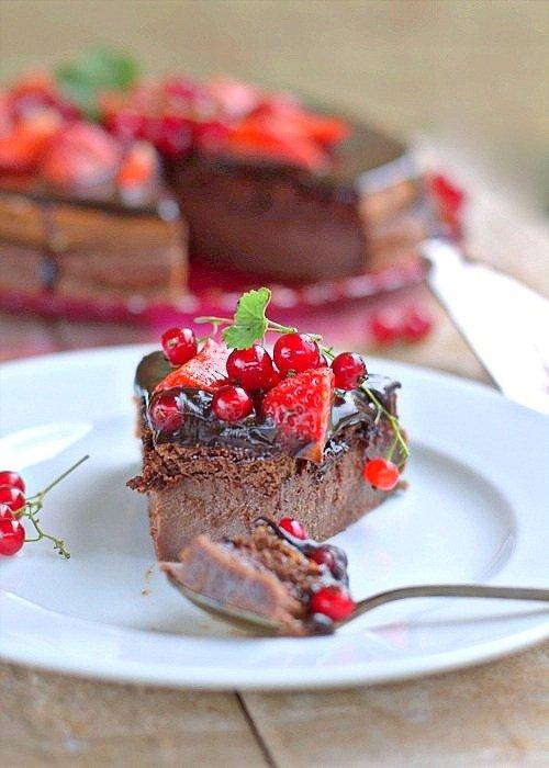 magiczne ciasto budyniowe czekoladowe