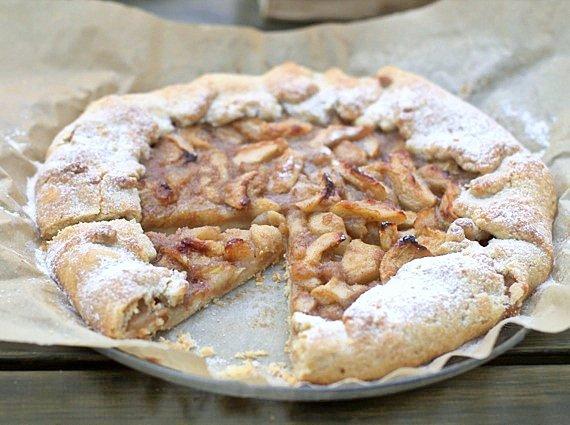 przepis tarta z jabłkami