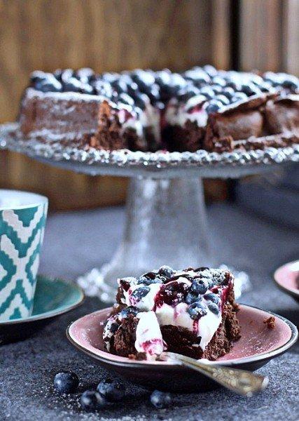 ciasto mocno czekoladowe bez mąki