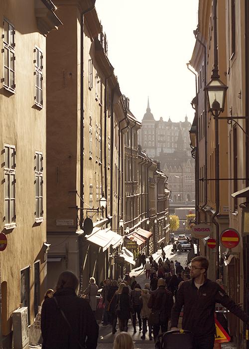 ulica w Sztokholmie
