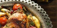 sałatka ziemniaczana z kurczakiem