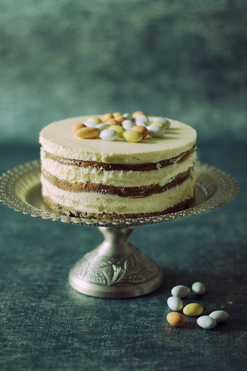 tort makowo cytrynowy