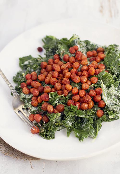 Salatka Z Jarmuzu I Ciecierzycy